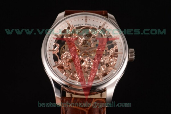 Patek Philippe Complicated Skeleton Automatic Skeleton Dial with Steel Case - 51844-1K-001 (GF)
